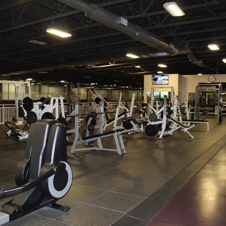 Bloomington Fitness - Third Floor - Free Weights 1