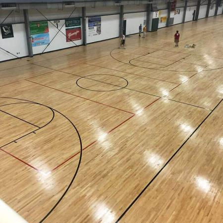 Bloomington Local Fitness Center - Basketball Court