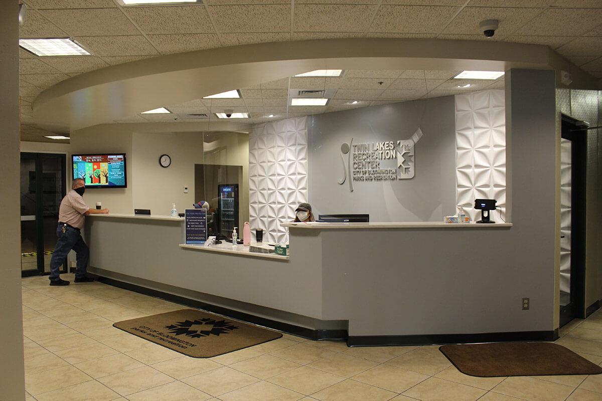 Bloomington Recreation Center - Front Desk 1