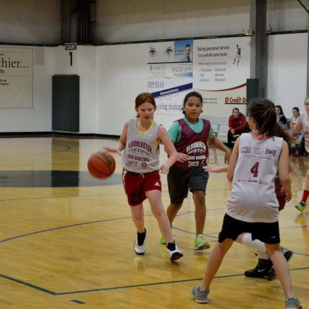 Bloomington Fitness Facility - BYB game girls March