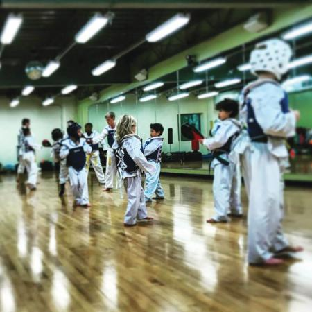 Bloomington Sports - Excel Tae Kwo Do kids soft focus
