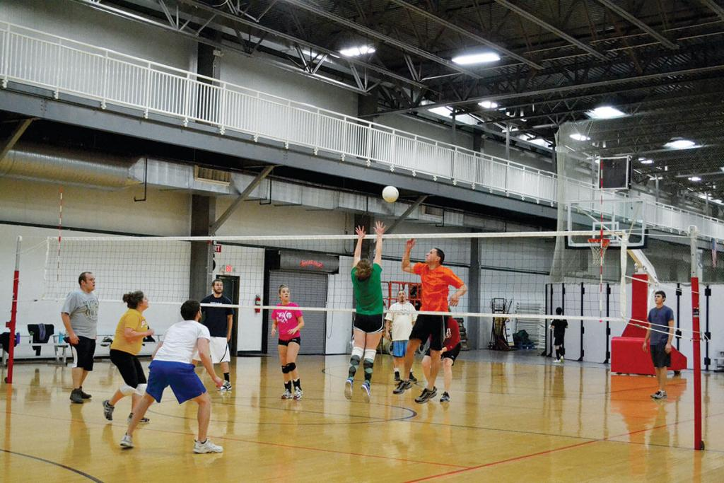 Bloomington adult volleyball leagues 2014